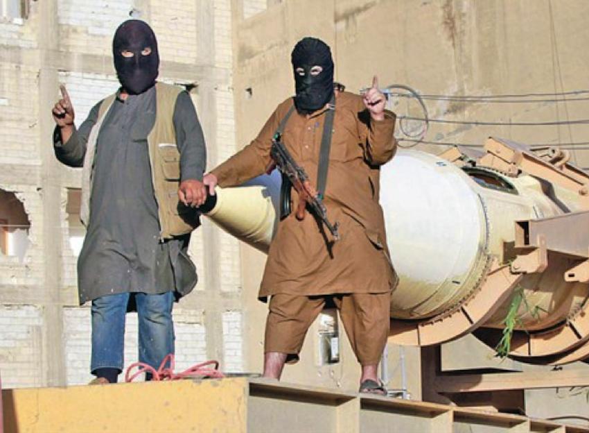 Terroristas de DAESH, Estado Islámico, ISIS