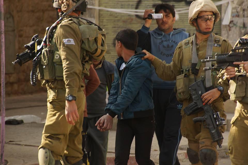 Israel maltrata a niños palestinos