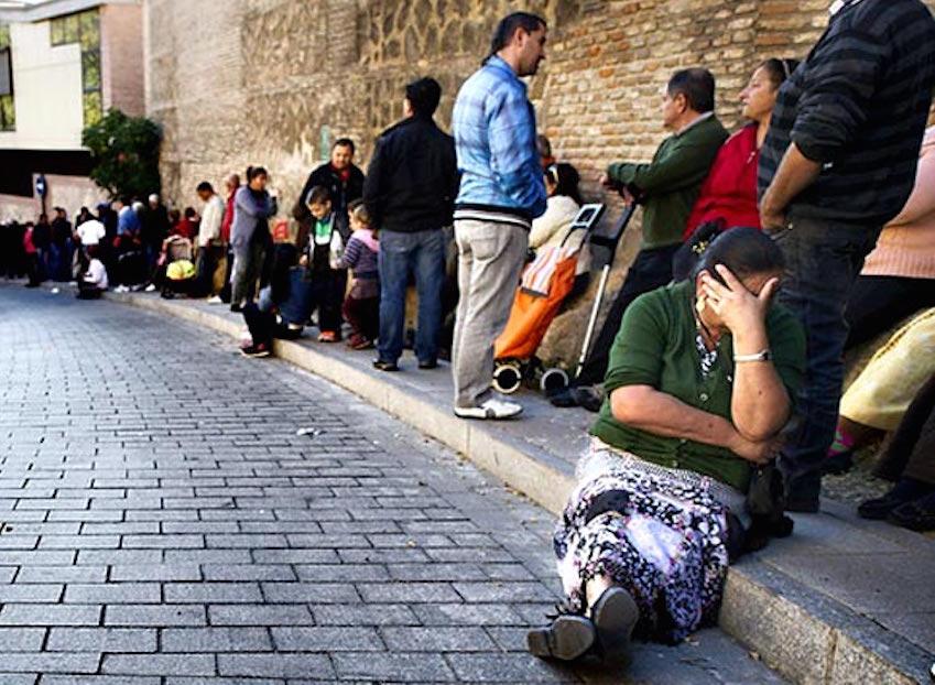 Miseria y pobreza en el paraíso neoliberal de España
