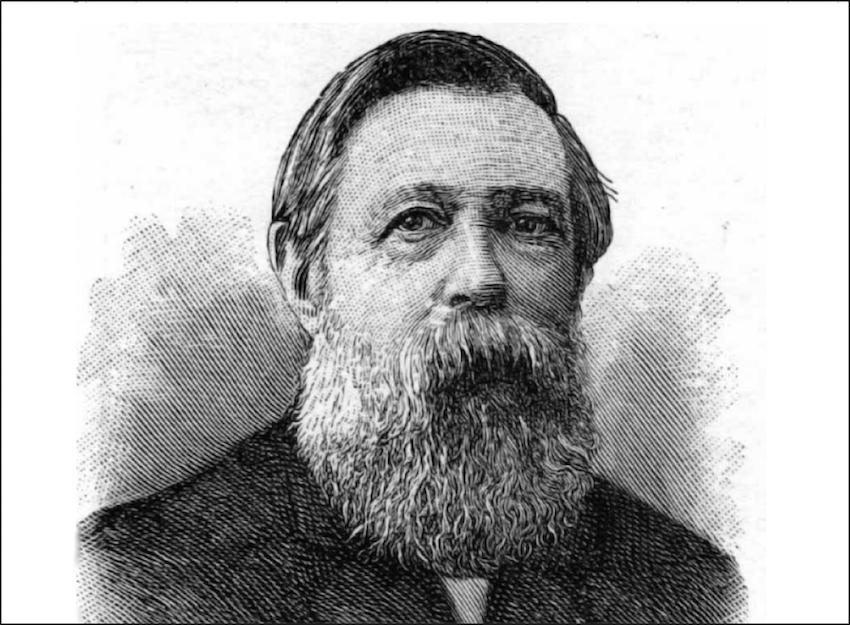 Retrato Friedrich Engels