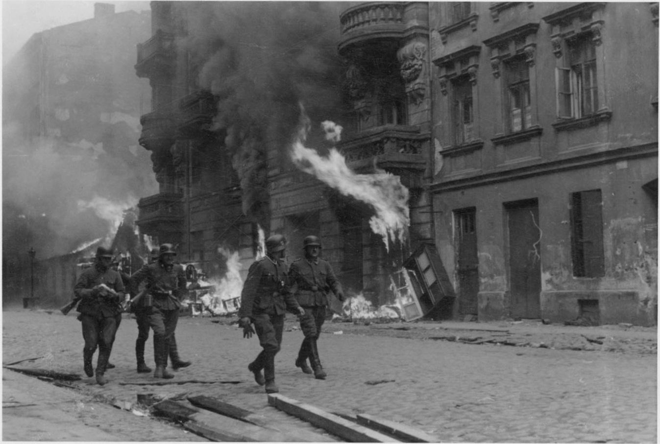 levantamiento ghetto Varsovia