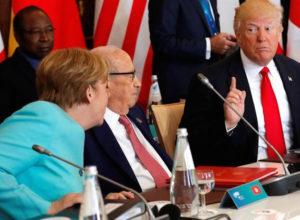 Donald Trump G7 Italia