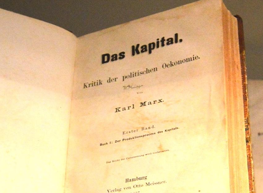 Prólogo de El Capital de Karl Marx