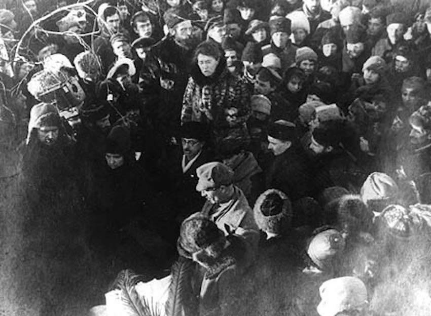 Emma Goldman visita Rusia