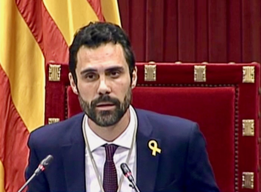 Roger Torrent presidente Parlament
