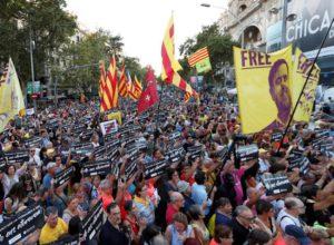 Movilizaciones en Catalunya