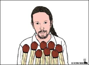 Viñeta Pablo Iglesias
