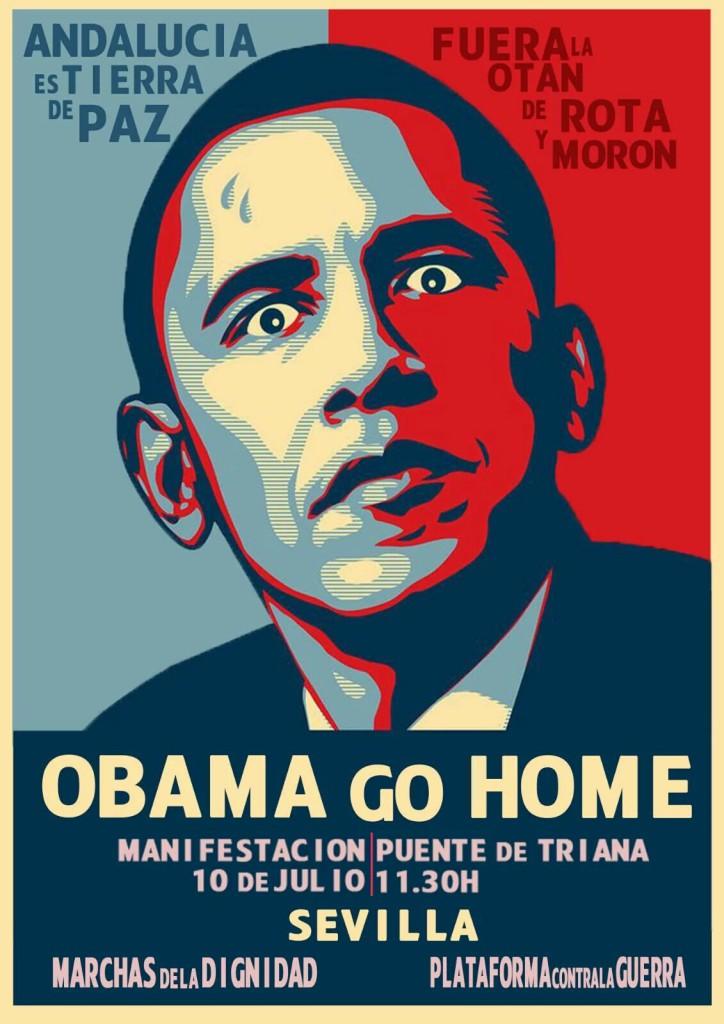 Obama: OTAN, no; bases, fuera