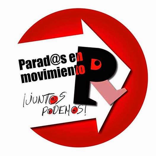 logo-parados en mov. Valladolid