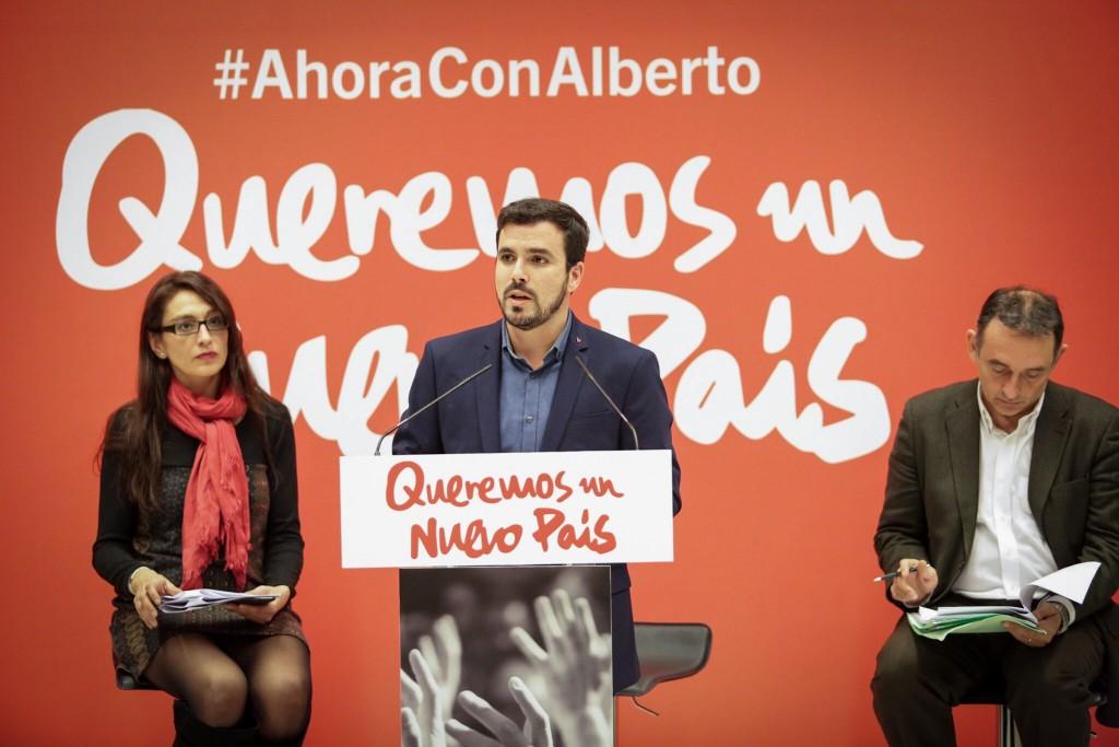 Organización, unidad y lucha Alberto Garzón