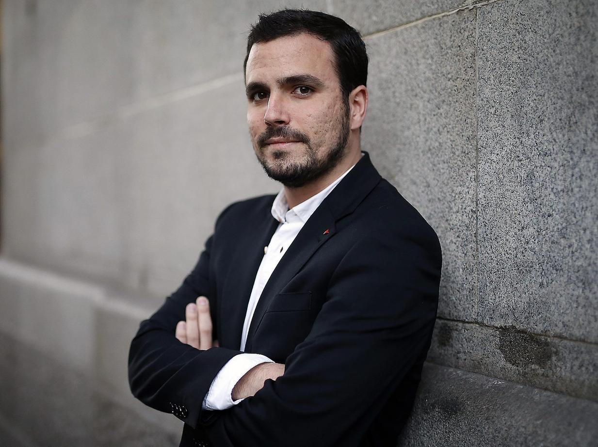 Retrato Alberto Garzón