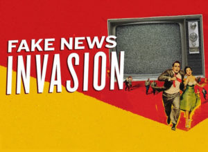 Poster Fake News Invasion