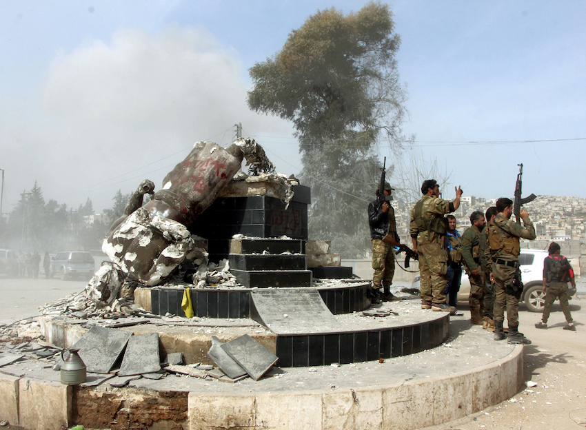 La caída de Afrin
