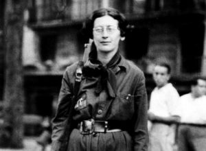 Simone Weil en la Columna Durruti