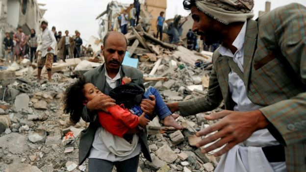 Catástrofe humanitaria en Yemen