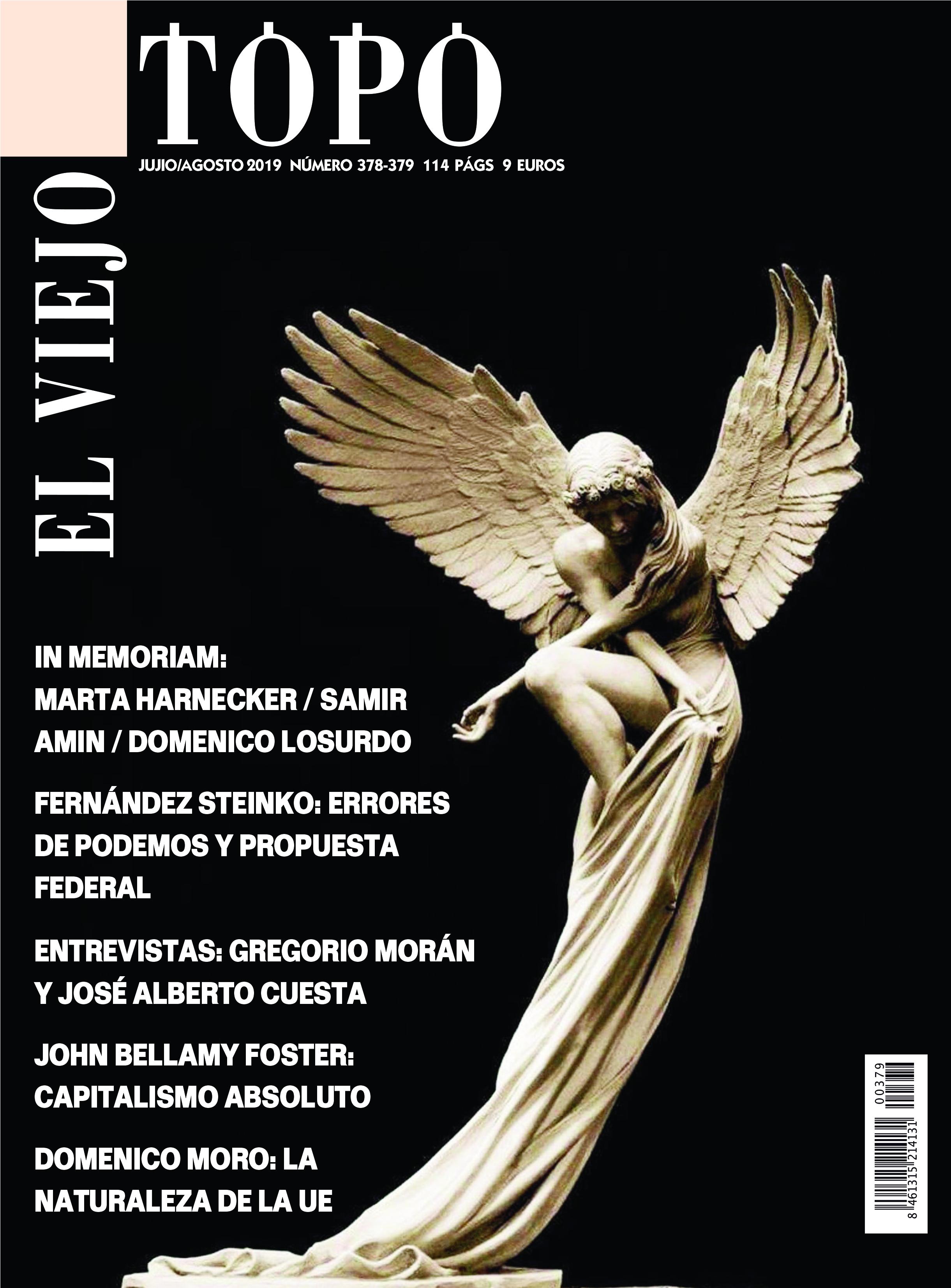 Revista El Viejo Topo 378/379 julio agosto 2019