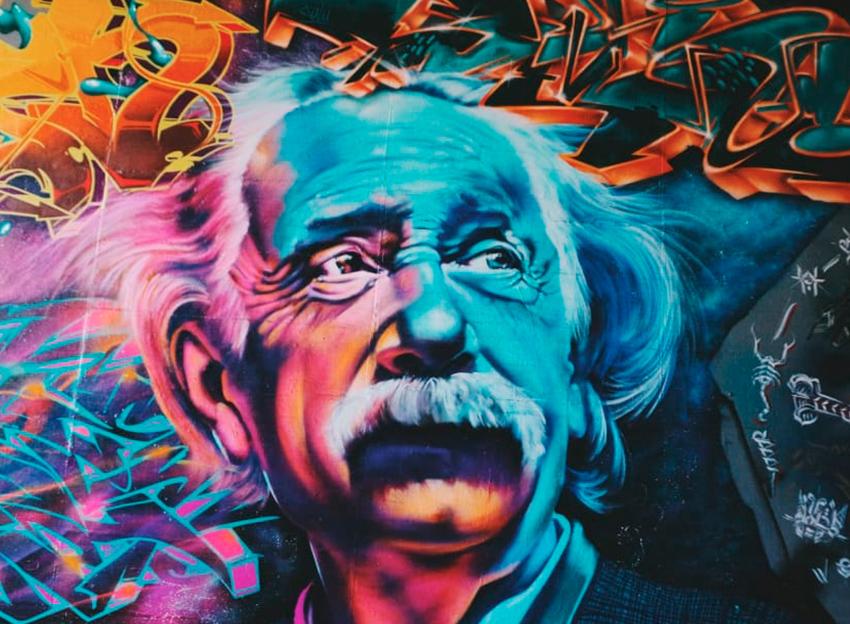 Albert Einstein leyenda